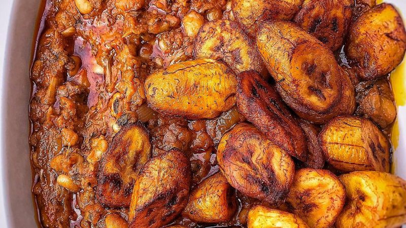 Ghana Food: Red red!